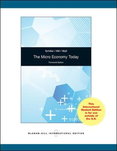 9780071317672: The Micro Economy Today