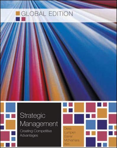 9780071317689: Strategic Management: Creating Competitive Advantages