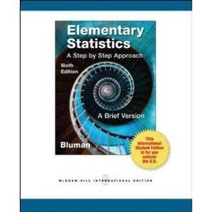 Elementary Statistics: A Brief Version: Allan G. Bluman