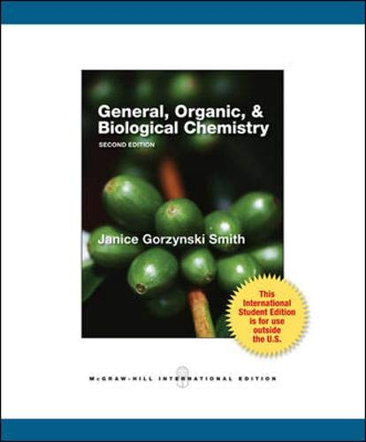 9780071317832: General, Organic and Biological Chemistry