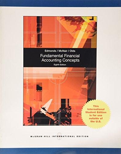 9780071317856: Fundamental Financial Accounting Concepts