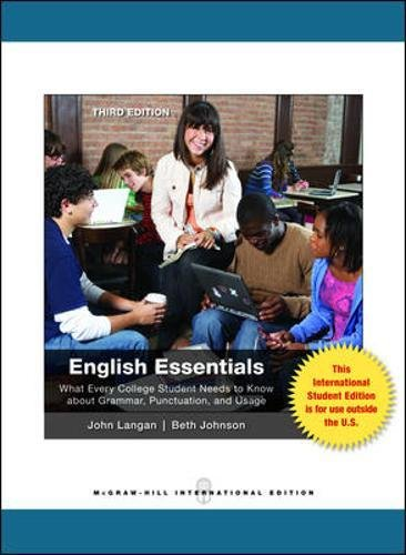 9780071317887: English Essentials (Int'l Ed)