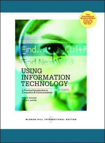 9780071317900: Using Information Technology 10e Introductory Edition