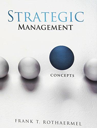 9780071317924: Strategic Management: Concepts