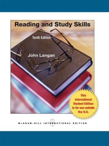9780071317931: Reading and Study Skills