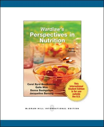 9780071317993: Wardlaw's Perspectives in Nutrition (College Ie Overruns)