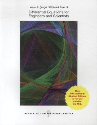9780071318051: Differential Equations for Engineers and Scientists