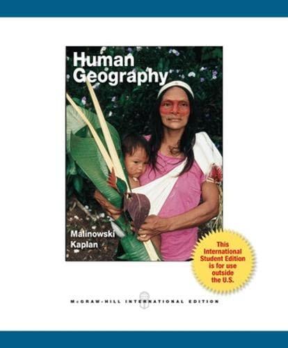 9780071318068: Human Geography