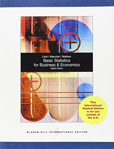 9780071318075: Basic Statistics for Business and Economics