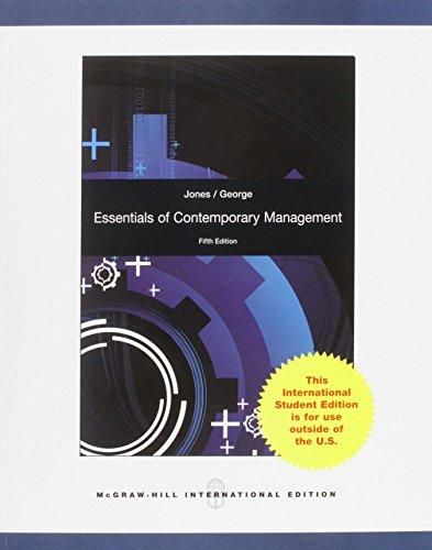 9780071318082: Essentials of Contemporary Management