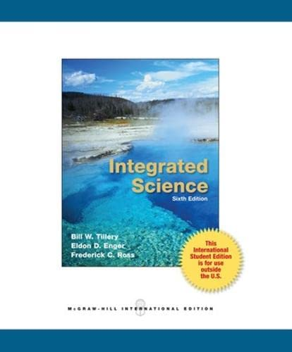 9780071318099: Integrated Science (Int'l Ed)