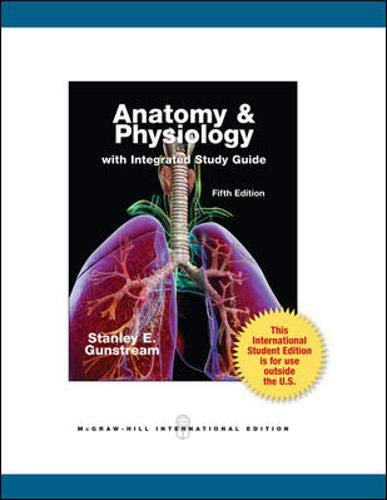 9780071318105: Anatomy & Physiology with Integrated Study Guide (Int'l Ed)
