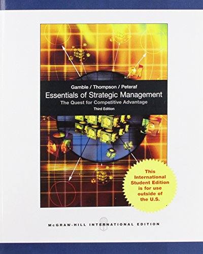9780071318129: Essentials of Strategic Managment
