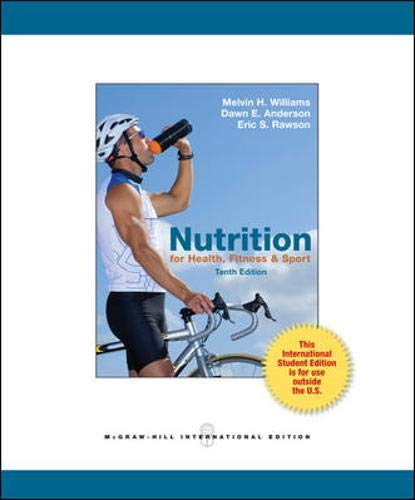 9780071318167: Nutrition for Health, Fitness & Sport (Int'l Ed)