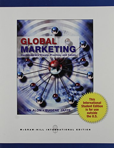 9780071318204: Global Marketing (Int'l Ed)