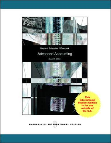 9780071318211: Advanced Accounting