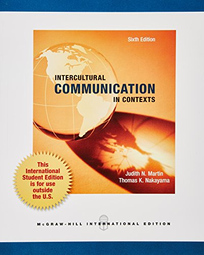 9780071318242: Intercultural Communication in Contexts