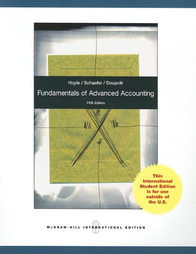 9780071318259: Fundamentals of Advanced Accounting