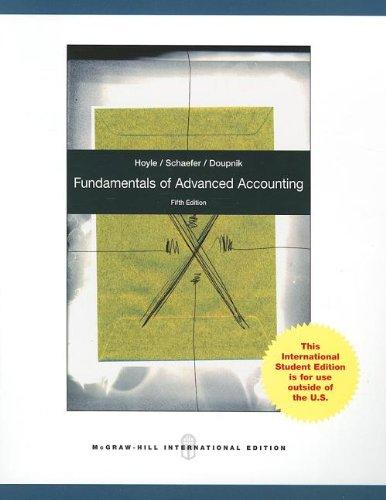 9780071318259: Fundamentals of Advanced Accounting