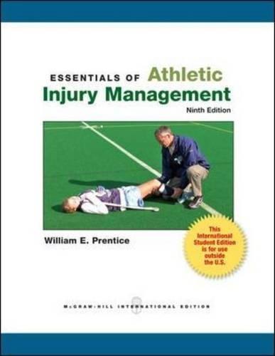 9780071318297: Essentials of Athletic Injury Management (College Ie Overruns)