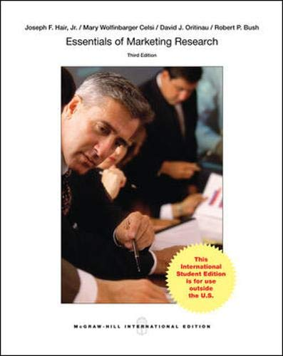Essentials of Marketing Research: Hair, Prof Joseph