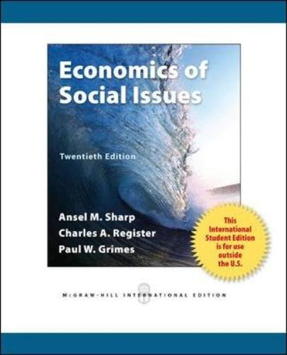 9780071318396: Economics of Social Issues