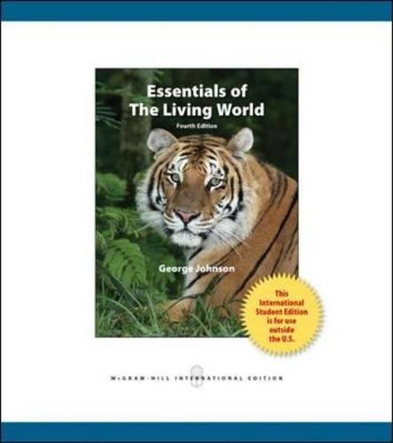 9780071318402: Essentials of The Living World (Int'l Ed)