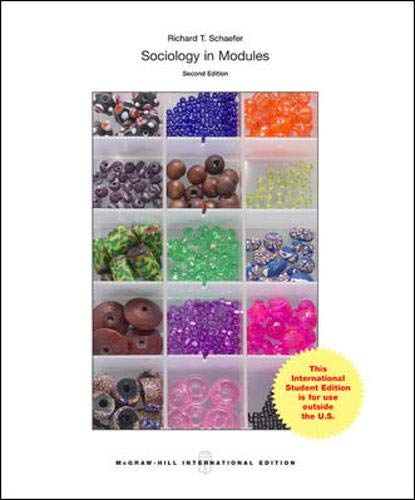 9780071318419: Sociology in Modules