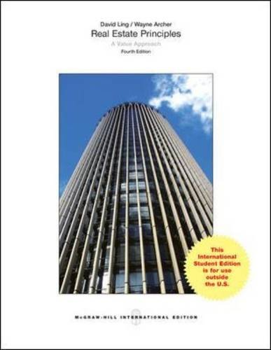 9780071318440: Real Estate Principles A Value Approach