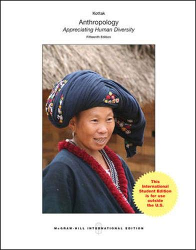9780071318495: Anthropology: The Exploration of Human Diversity