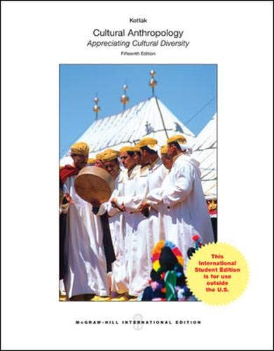 9780071318549: Cultural Anthropology