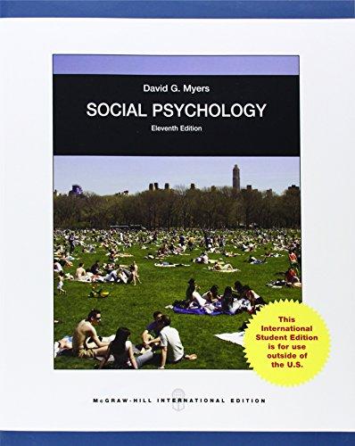 9780071318648: Social Psychology