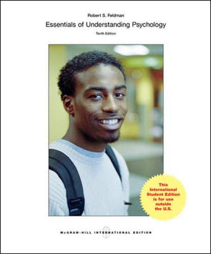 9780071318662: Essentials of Understanding Psychology