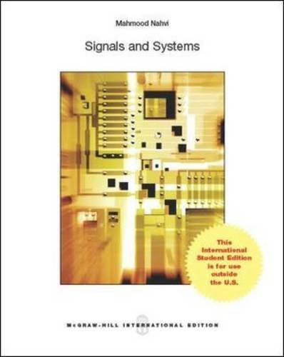 9780071318709: Signals and Systems