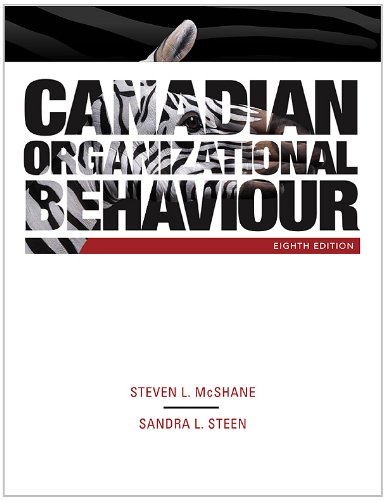 Canadian Organizational Behaviour with Connect Access Card: Steven McShane