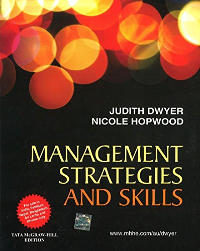 9780071321075: Management Strategies & Skills