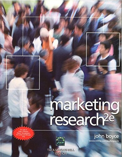 9780071321082: Marketing Research