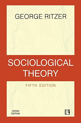 9780071321150: Sociological Theory