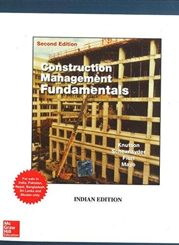 9780071321181: CONSTRUCTION MANAGEMENT FUNDAMENTALS, 2E