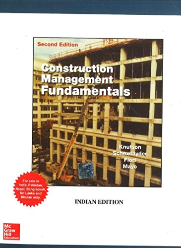 9780071321181: Construction Management Fundamentals