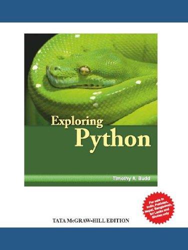 9780071321228: Exploring Python