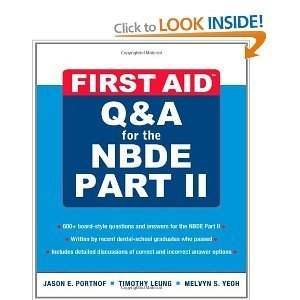 9780071323772: First Aid Q&A For The NBDE Part II