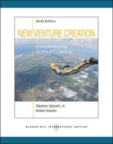 9780071324632: New Venture Creation: Entrepreneurship for the 21st Century (Int'l Ed)