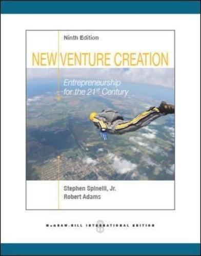 9780071324632: New Venture Creation: Entrepreneurship for the 21st Century (Int'l Ed)