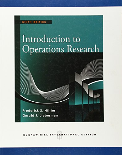 9780071324830: Introduction to Operations Research