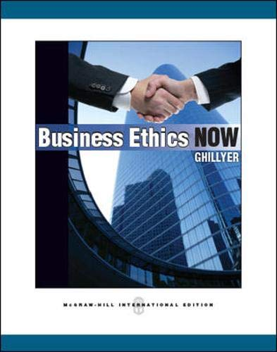 9780071325202: Business Ethics Now