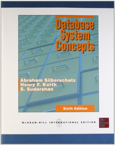 9780071325226: Database System Concepts, 6E (Ie)
