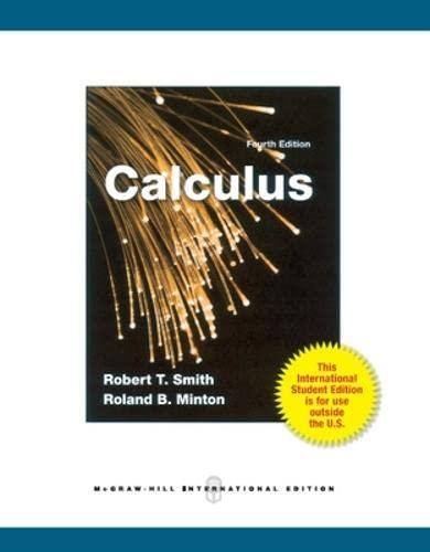9780071325370: Calculus