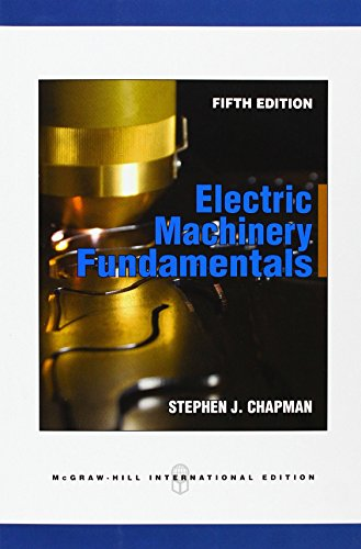 9780071325813: Electric Machinery Fundamentals (Int'l Ed)