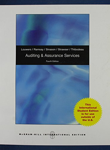 9780071326025: Auditing and Assurance Services with CD